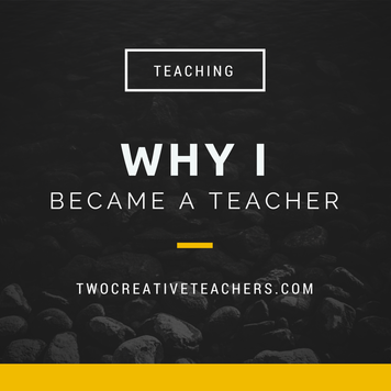 why i became a teacher Why i became a teacher essay sample my choice to become a teacher was not made lightly this decision was a culmination of a process of reflection about what i wanted to do with my life.